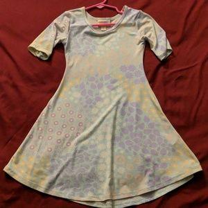 Lularoe girls size 4 dress